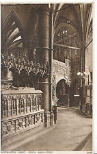 London Postcard - Westminster Abbey - South Ambulatory   XX860