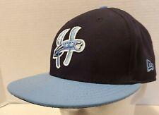 New Era Harrisburg Senators MiLB Baseball Hat Fitted Size 7 3/8 Blue