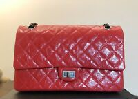 $6.4k New Red Chanel Large Classic Double Flap 2.55 Reissue 226 Shoulder Bag