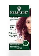 HERBATINT HERBAL NATURAL HAIR COLOUR DYE VIOLET FF4 150ml - AMMONIA FREE