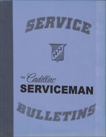 1970 Cadillac Service Bulletins Shop Manual Revisions ServiceMan Repair Updates