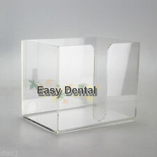 Dental Clinic Hospital Disposable Bib Towel Tissue Paper Dispenser Holder Case