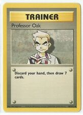 Pokemon Base set uncommon Professor Oak 88/102 Trainer Near Mint condition