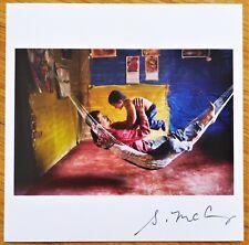 Firmado - Steve Mccurry - Padre E Hijo - Limitada 15.2cm x Magnum Archivo