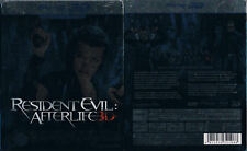 RESIDENT EVIL: AFTERLIFE --- 3D Blu-ray --- Limited Steelbook Edition --- + 2D -