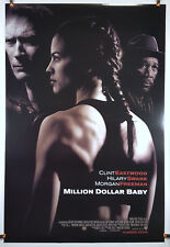 Million Dollar Baby 2004 Original Movie Poster 27x40 Rolled, Double-Sided