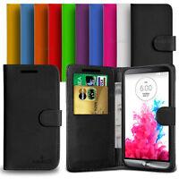Custodia Case Flip Cover Pelle Portafogli Libro Anukku Per LG G3 S D722 Mini