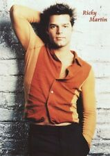 RICKY MARTIN ~ ORANGE KRAMER SHIRT ~ 25x36 Music Pinup Poster ~ NEW/ROLLED!