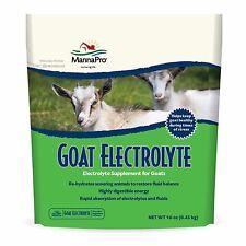 Manna Pro Goat Electrolyte 16 oz.  Supports Hydration & Optimal Fluid Balance