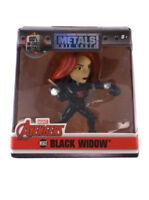 "Jada Toys Die-Cast Metals Black Widow 2.5"" Inch Figure Avengers Marvel M503"