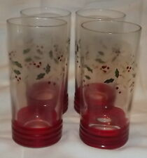 Pfaltzgraff Wineberry 20 oz cooler set of 4