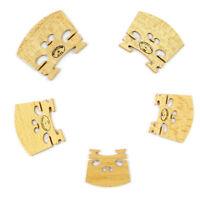 Ponte ponticello bridge violino 4/4 3/4 1/2 1/4 1/8 legno acero ricambio suono