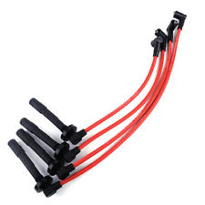 10.2mm Ignition Racing Coil Spark Plug Wires Fit for Honda Civic 1992-2000