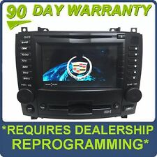 Cadillac CTS Navigation DVD 6 CD Disc Player GPS NAVI Radio 10359362 OEM Stereo