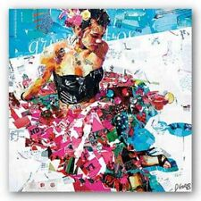 She only has 2 shoes Alece Birnbach ART PRINT Who wants to be Miss Goody