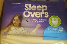 Overnight Pants Sleep Overs Youth Underwear XLarge (85-140 lbs) 22 Count