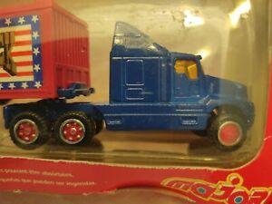 HO Scale Majorette Brand Eagle Truck Semi Trailer