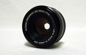 OEM KONICA Hexanon AR f/1.8 50mm Prime Lens SLR Film Camera DSLR Sony Micro
