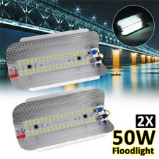 2X 50W LED Hallenleuchte Fluter Flutlicht Scheinwerfer Jod-Wolfram Außen Lampe