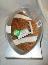 """Wilton First and Ten Football Shaped Cake Pan- 13"""" long X 8.25"""" wide"""