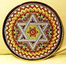 [Wandteller - Wall plate]  Davidstern Star of  David - Cearco  (Sevilla, Spain)