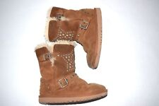 Ugg Boots Girls Youth 13 Studded Star Buckle
