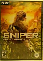 Sniper Ghost Warrior PC DVD Rom Complete 2010