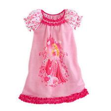 Summer Girls Kids Disney Dress Cartoon Children Pajamas Nightgown Sleepwear Top