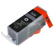 1 Tintenpatrone CANON + Chip PGI-520 bk MP 620 MP 630 MP 640 NEU