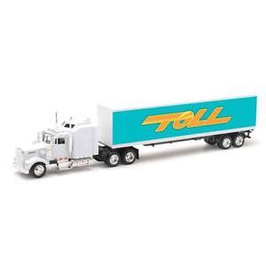 Toll Delivery Transporter Custom Kenworth W900 Truck 1/43
