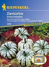 ZIERKÜRBIS Sweet Dumpling Mikrowellenkürbis essbar  Kürbis Samen für ca.10 Pfl.