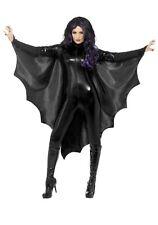 VAMPIRE BAT WINGS ADULT LADIES WOMENS COSTUME ACCESSORY CAPE BLACK HALLOWEEN