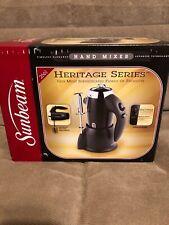 Sunbeam  Heritage Series Hand Mixer, Black Model 2561 NEW IN BOX