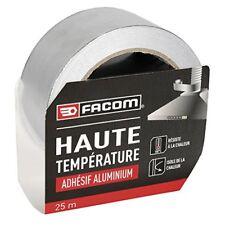Facom 84300Klebeband Aluminium Hochtemperatur 25m x 50mm, grau