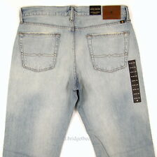 Lucky BRAND Jeans 121 Heritage Slim Fit Size 34 X 32 Light Blue W/fade