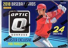 2018 Donruss Optic Baseball Blaster Box Pink Parallels