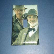 Henry Jones Jr. & Sr. Indiana Jones Light Switch Cover Plate
