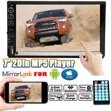 2 DIN 7 inch Car MP5 MP3 FM Player Bluetooth TouchScreen Stereo Radio For Toyota