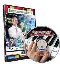 Incredible New Way To Learn Piano & Keyboard Video Training DVD