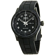 Mido Multifort Automatic Black Dial 42mm Men's Watch M0184303705280