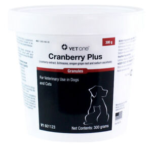 VetOne Cranberry Plus Granules 300 gm Beneficial for Urinary Tract