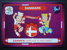 Panini 35 Danmark Dänemark Maskottchen EM 2012 Poland - Ukraine