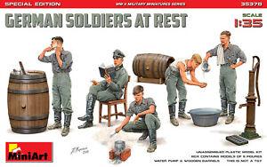 MIN35378 - Miniart 1:35 - German Soldiers at Rest (Spec Edition)