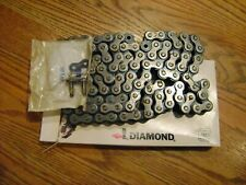BSA 650  A65   PRE LUBED REAR DRIVE CHAIN MADE IN USA CORRECT LENGTH 1964-1970