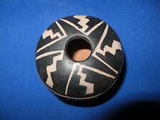"New! SANTO DOMINGO ""KEWA"" Pueblo Lightning Pottery Bowl Jar by Robert Tenorio"