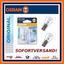 2X OSRAM Original Line P21/5W RÜCKLICHT mit BREMSLICHT OPEL AGILA CORSA VIVARO