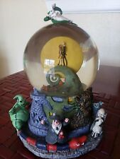 Disney Nightmare Before Christmas First Edition 1993 Collectors Snowglobe