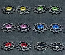 J&L 12T Ceramic Bearing Derailleur Pulley* 2 For Shimano,SRAM X-SYNC-Narrow/Wide