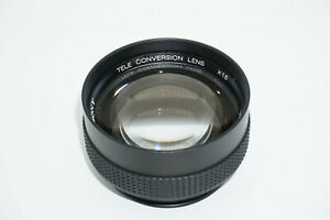 Sony Tele Conversion Lens X1.5 VCL-1558A for camcorders, 52mm or 58mm fit