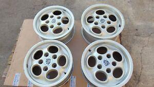 Set 4 Ruedas Porsche 911 6JX15ET36 -7JX15ET 23.3 911.361.023.46-911.362.104.00